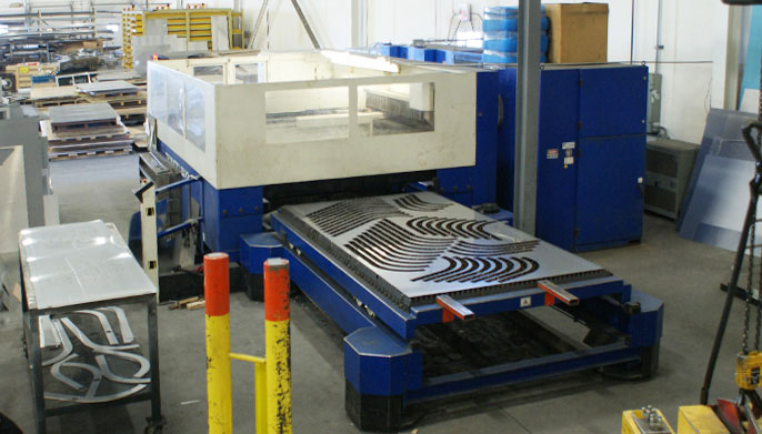 Service Metal Fabrication Toronto : Laser cutting toronto ontario way metal fabricators